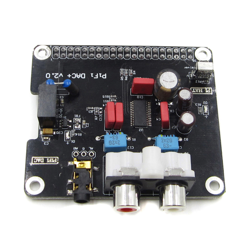 Pifi Digi Dac Hifi Audio Sound Card Module I2s Interface For Kit Digital Thermometer With Pic16f84 Circuit Raspberry Pi 3
