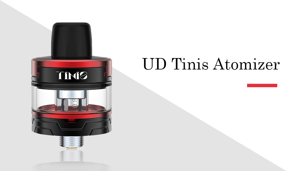 UD Tinis Atomizer with 1.5 / 0.8 ohm / 2ml for E Cigarette