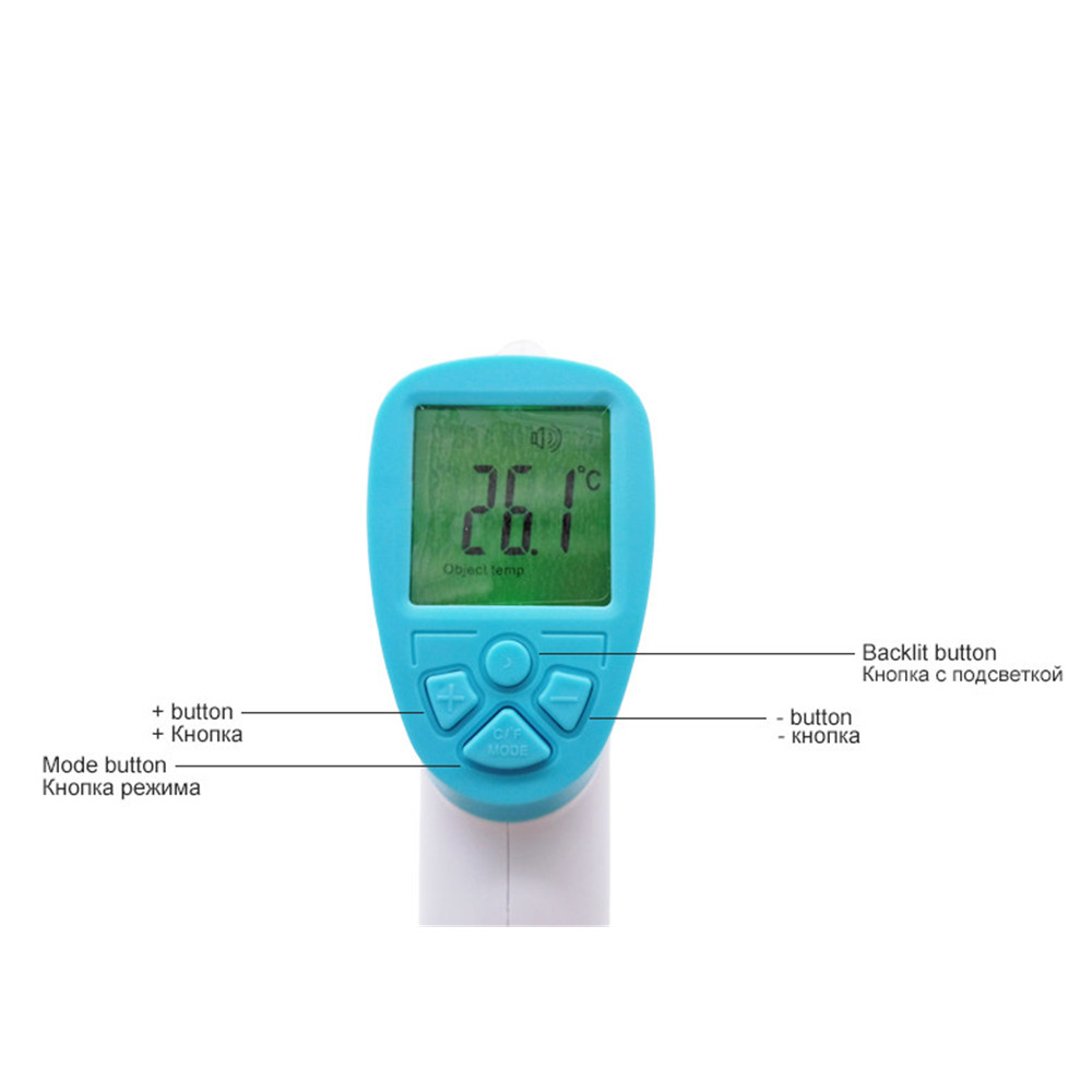 Forehead digital baby thermometer infrared for milk water room medical pacifier