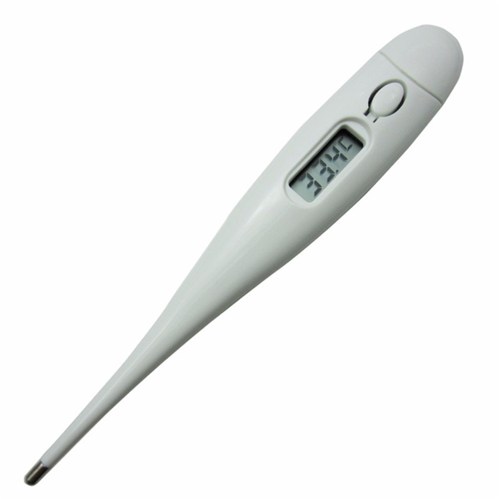 Child Adult Body Digital Lcd Heating Thermometer Temperature Led For Measurement White