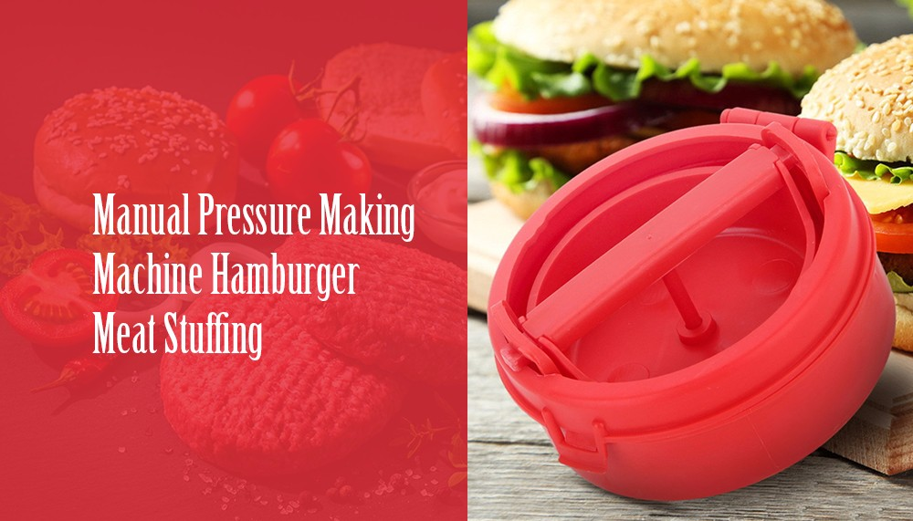 Hamburger Maker Meat Stuffing for Home Kitchen Cooking Supplies