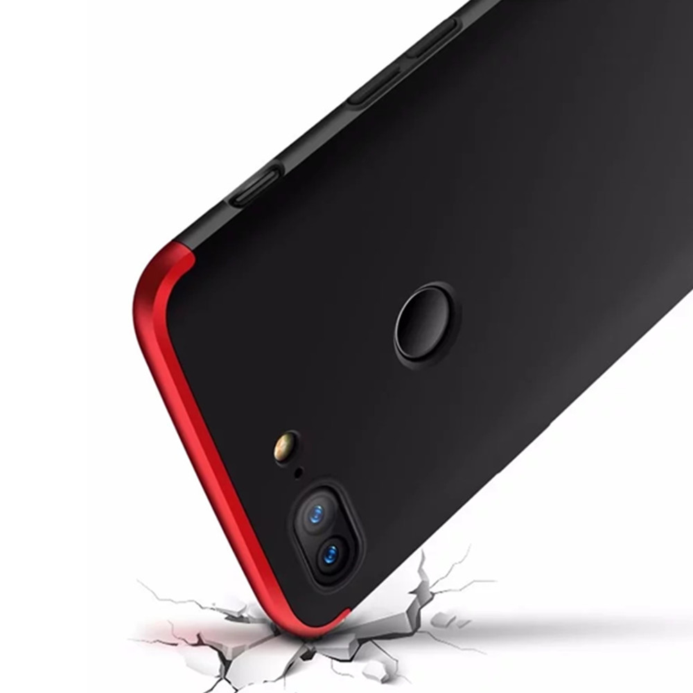 Hybrid Anti Fingerprint Scratches Soft Grip 360 Degree Full Body Protection Cover for  OnePlus 5T