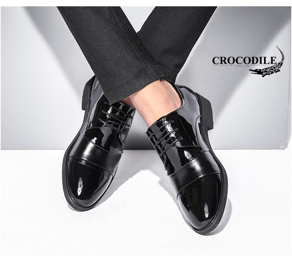 CROCODILE New Men Leisure Business Leather Shoes WFX00372066