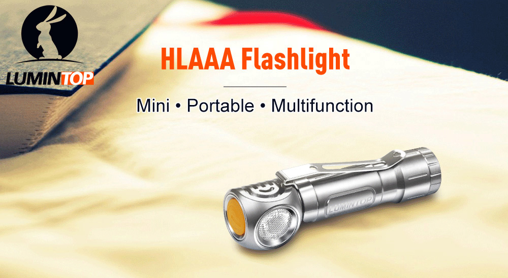LUMINTOP HL AAA LED Flashlight Mini Keychain CREE XP - G2 R5 120LM 6500 - 7000K