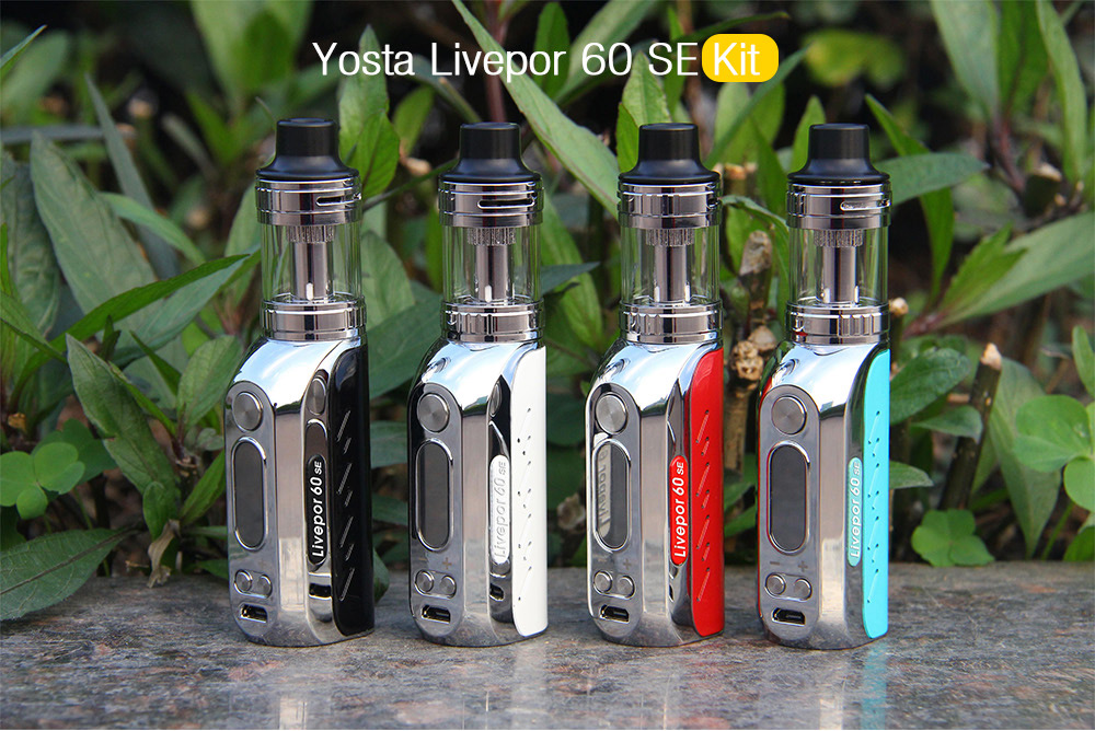 Yosta Livepor 60 SE Kit with 0.2 - 2.5 ohm / 3ml for E Cigarette