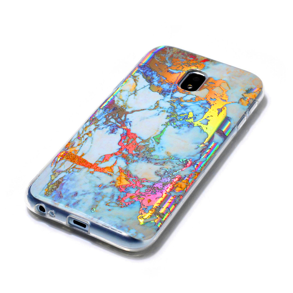 Fashion Color Plated Marble Phone Case For Samsung Galaxy J5 2017 J530 Case Cover European version Soft TPU Phone Bag
