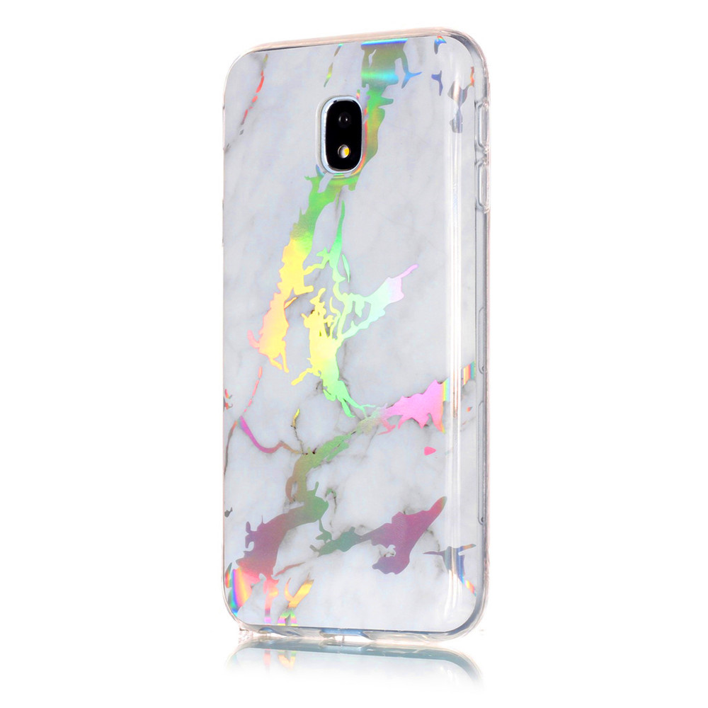 Fashion Color Plated Marble Phone Case For Samsung Galaxy J7 2017 J730 Case Cover European version Soft TPU Phone Bag