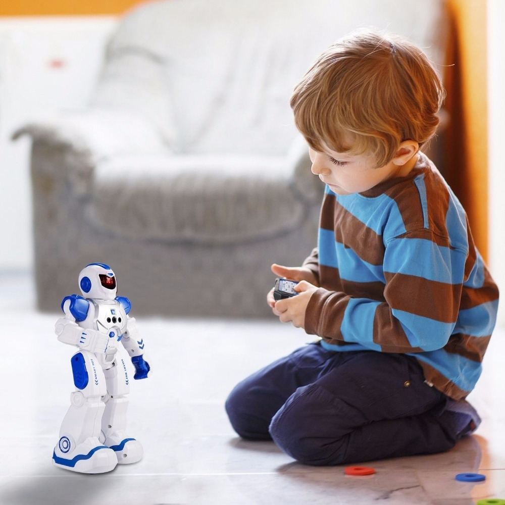 Remote Control Intelligent Robot Gesture Sensing Programming Charging Children Dancing Fighting Defentor Boys Gift