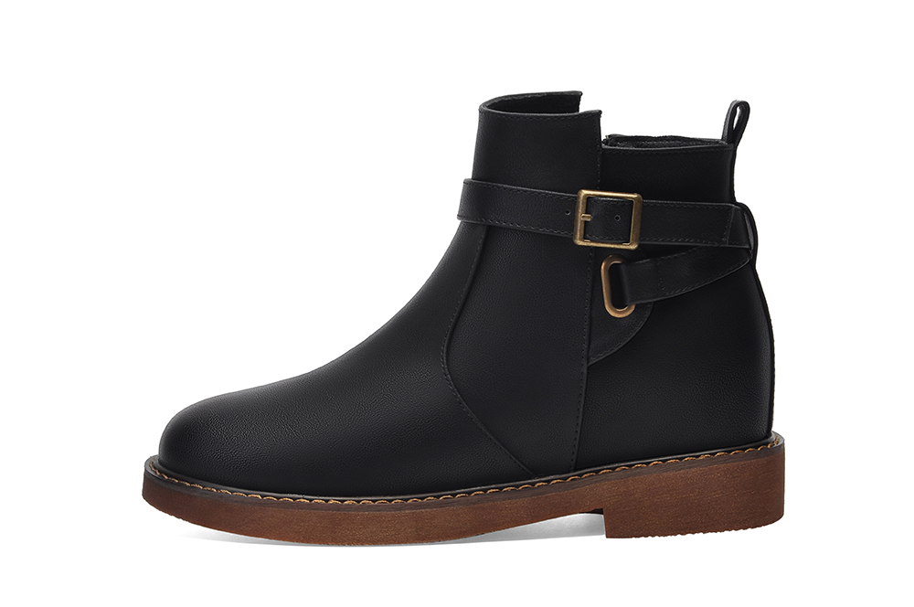 Thick and Velvet Martin Boots