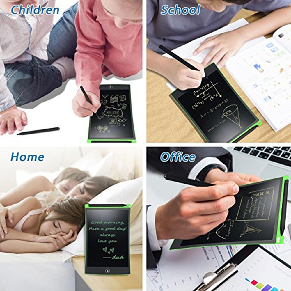 8.5-Inch LCD Writing Tablet- Drawing Board Gifts for Kids Office Writing Board