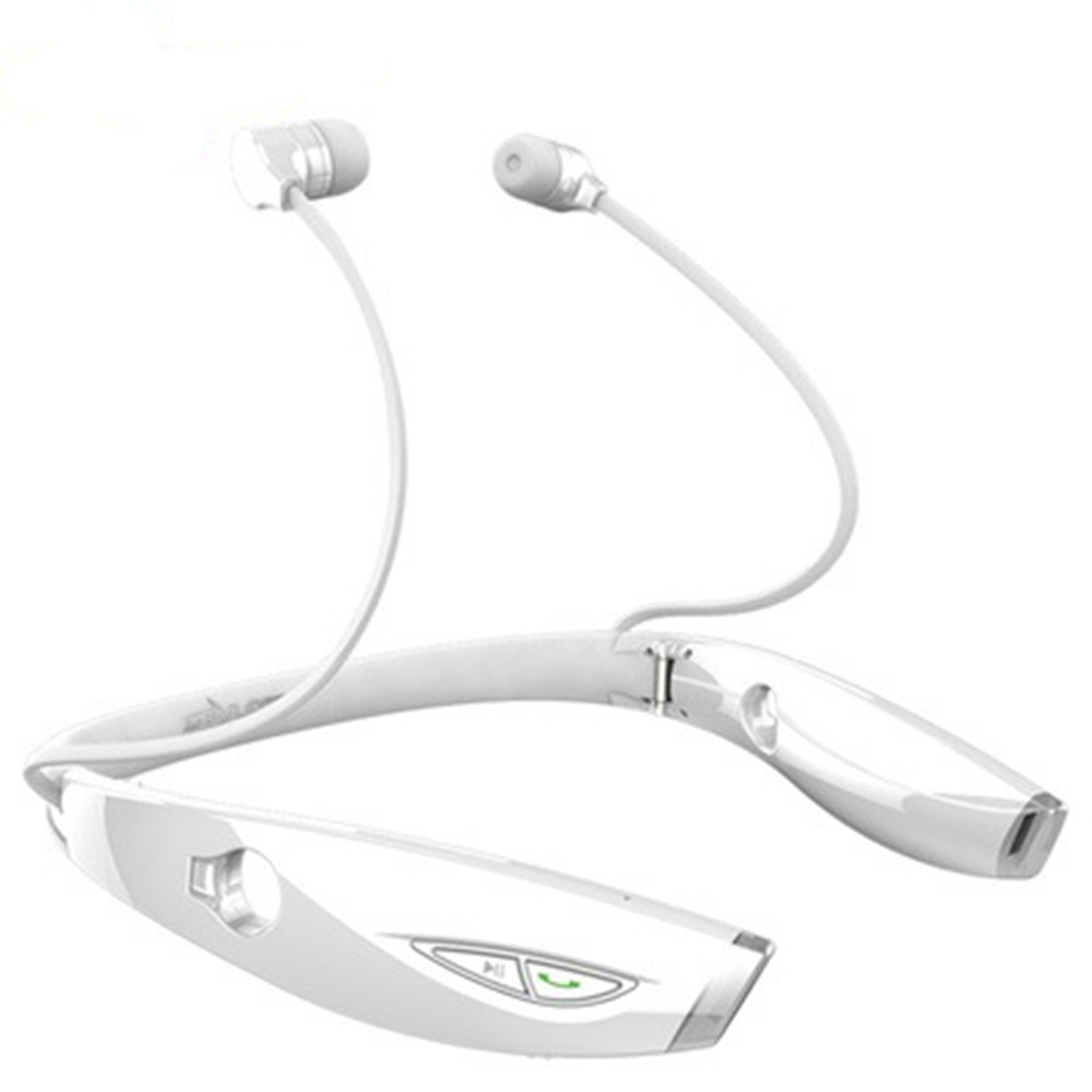 Bluetooth Headphones Wireless Neckband Headset Stereo Noise Cancelling Earbuds Mic