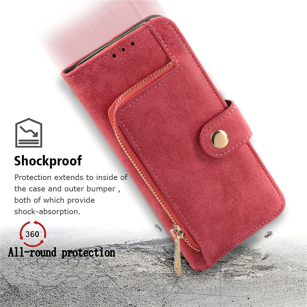 High Grade Original Leather Wallet Case For iPhone X Retro Luxury Full Protective Pouch Cover