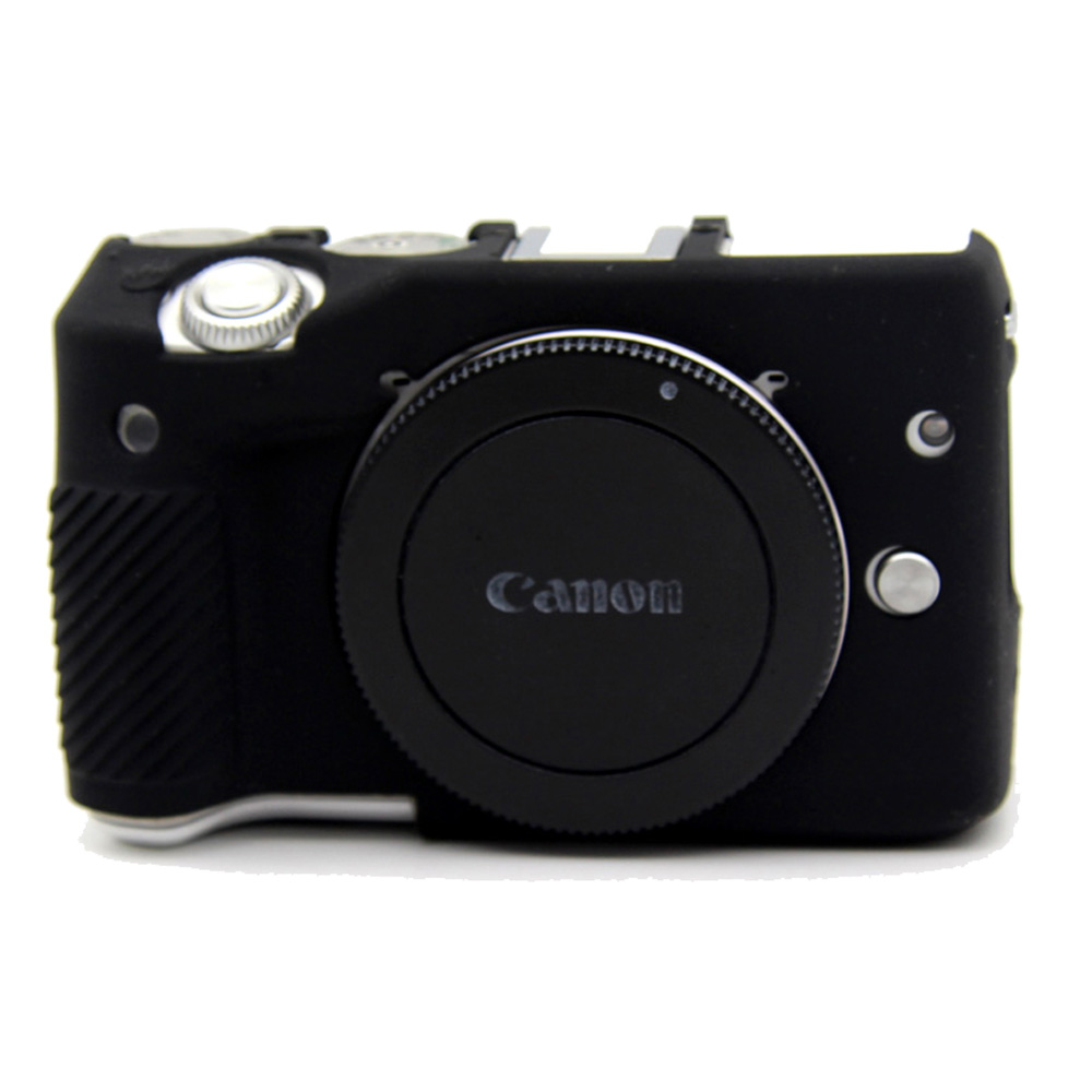 soft silicone armor skin rubber camera cover case bag for canon eos