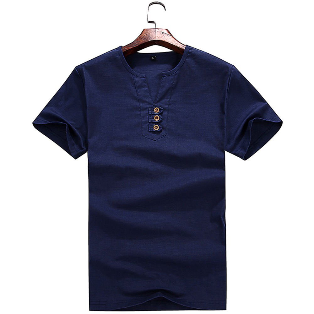 Fashion All-Match Handsome Short Sleeved T-Shirt