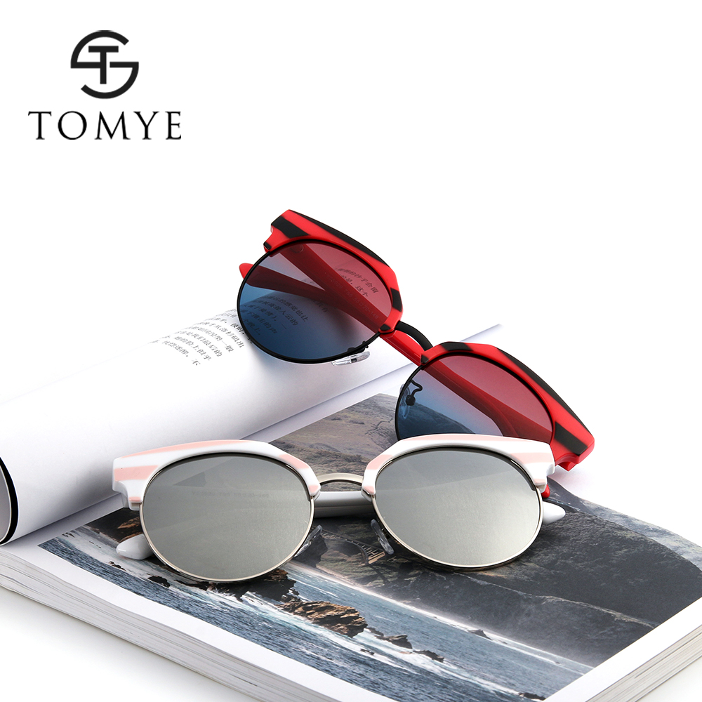 TOMYE 55929 Cat Eye Polarized Sunglasses for Women