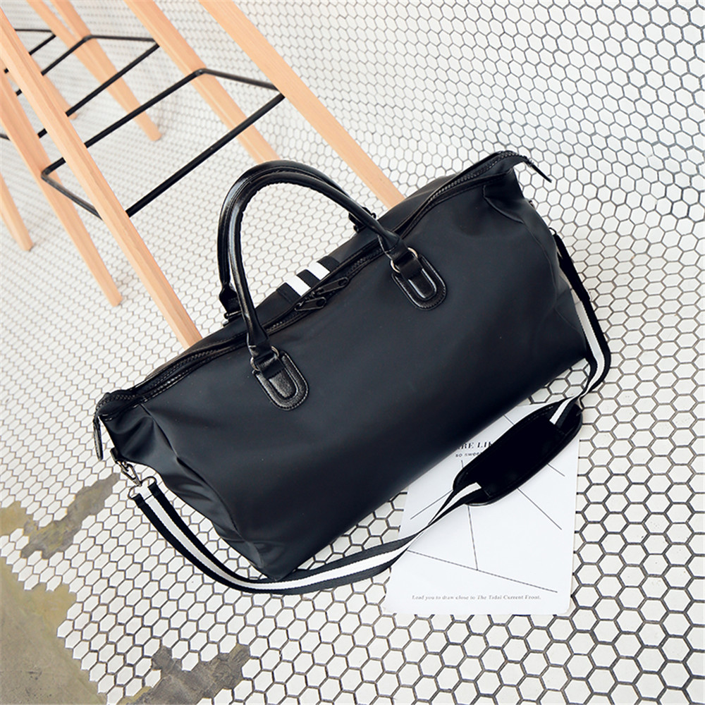 4a43e69158dd European And American Fashion Simple Men And Women s General Hand-Held  Backpack- Black
