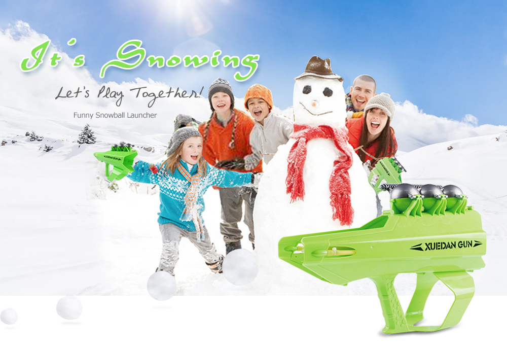 Funny Snowball Launcher Shooter for Children