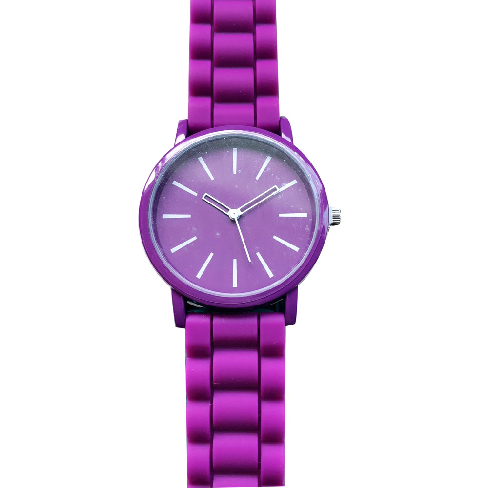 Stylish Silicone Band Women Watch