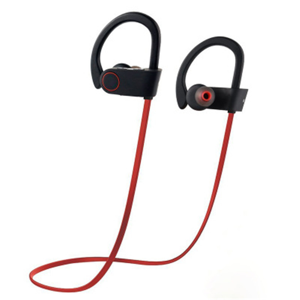 dcc438f0f69 Bluetooth Headphones Best Wireless Sports Earphones w/ Mic HD Stereo  Sweatproof Earbuds for Gym Running