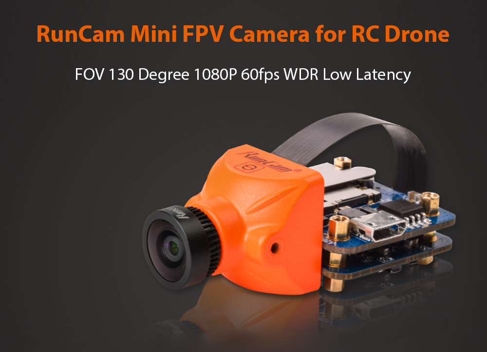 RunCam Split Mini FOV 130 Degree 1080P 60fps WDR Low Latency FPV Camera for RC Drone