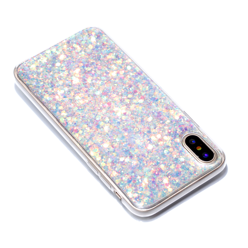 Cases For IPhone X Color Glowing TPU Phone Protects the Shell