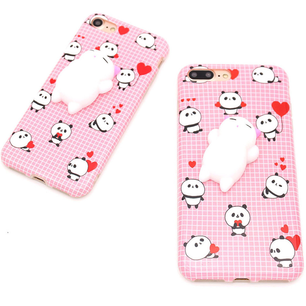 Decompression Doll Mobile Phone Shell for iPhone 7