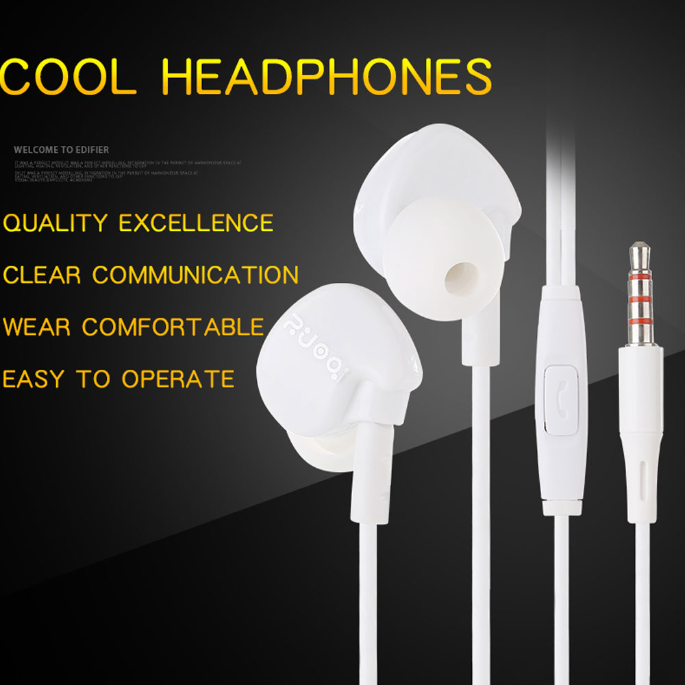 Zuoqi H200 In-Ear Headphones for Phone Tablet / MP3 / Universal 3.5MM