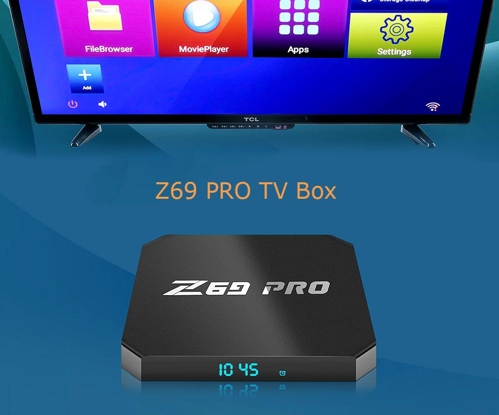 Coupon Z69 PRO TV Box