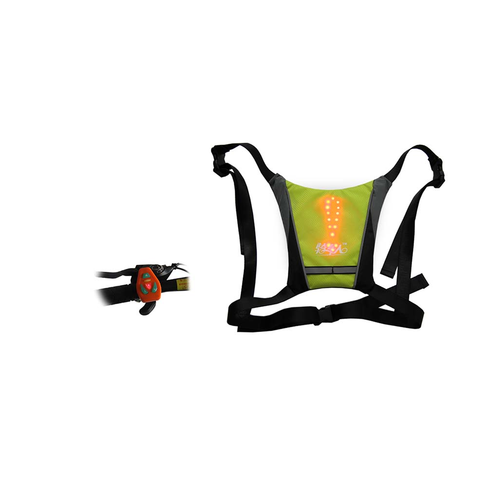 Remote Control Cycling Vest