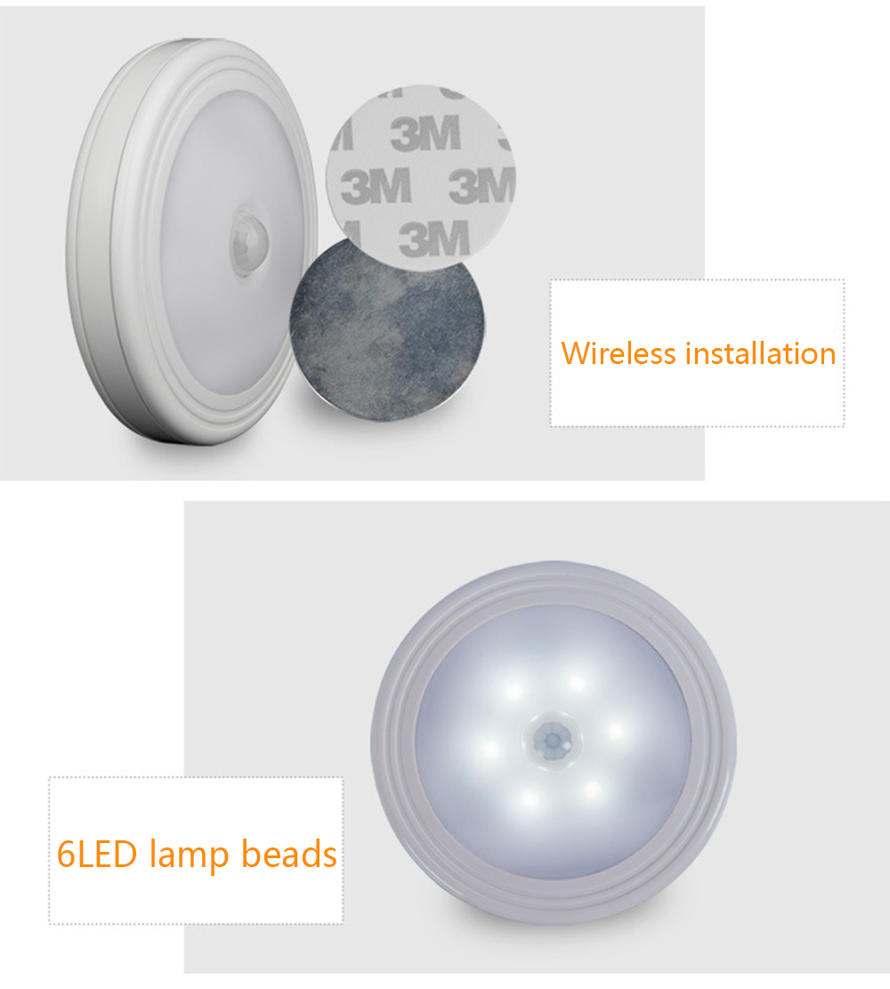 Brelong Led Induction Night Light Corridor Wall Lamp 519 Free 3m Advanced Bulb Diagram Warm White