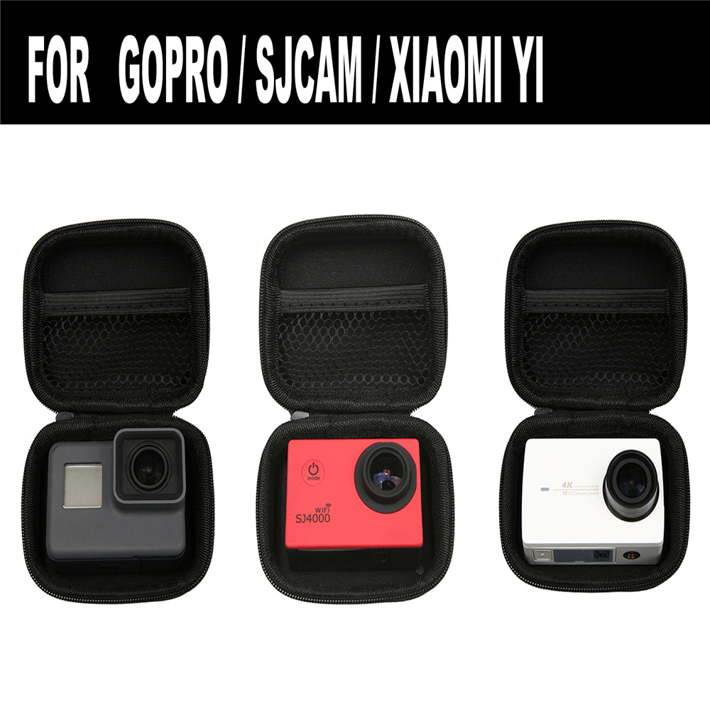 Mini Portable Storage Carry Case Bag for GoPro Hero 6/ Hero 5 / SJ6000 / SJ7000 / XIAO Mi Yi