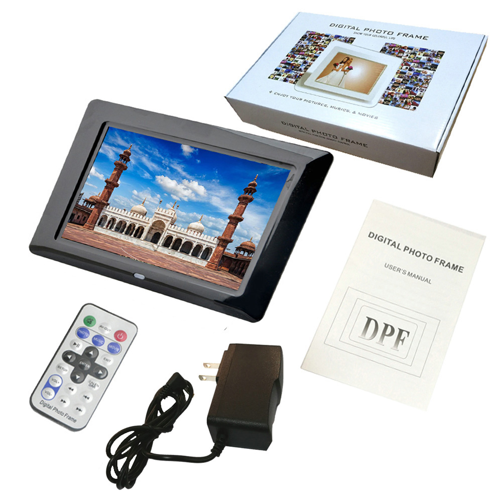 LD701 New 7 inch Digital Photo Frame Electronic Album Picture/Music ...