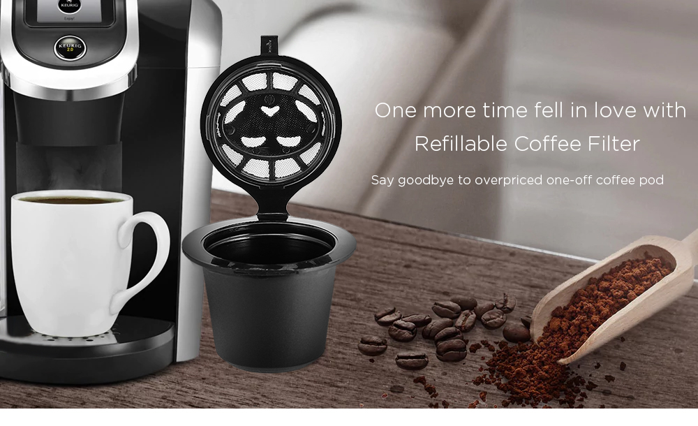 Refillable Coffee Capsule Cup Filter 1PC -$2.99 Online Shopping ...