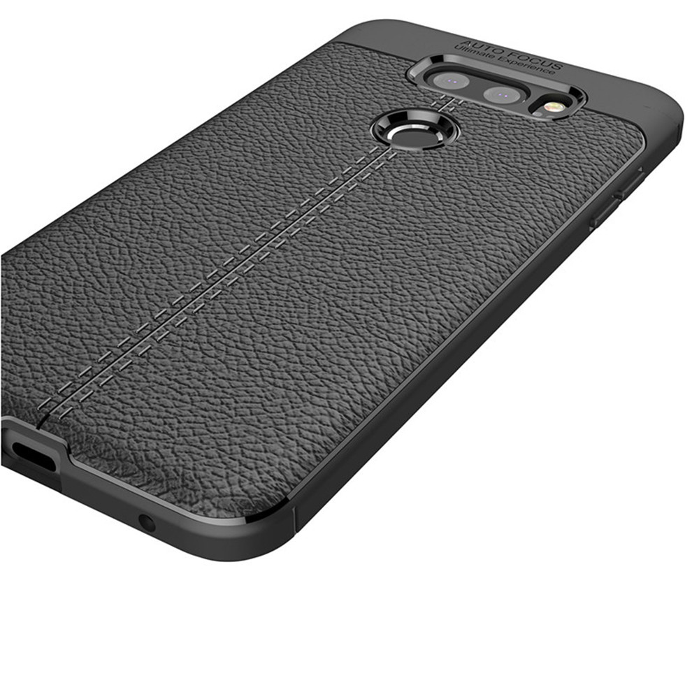 new style 7b0ad 15f05 Cover Case for LG V30 / V30 Plus Luxury Original Shockproof Armor Soft  Leather Carbon TPU
