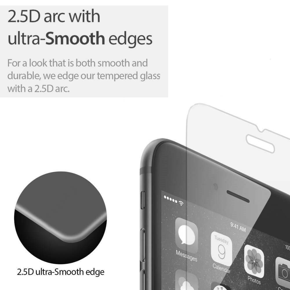 for IPhone 7 8 0.3mm 9H Premium Shatterproof Tempered Glass Screen Protector Anti-Shatter HD Clear