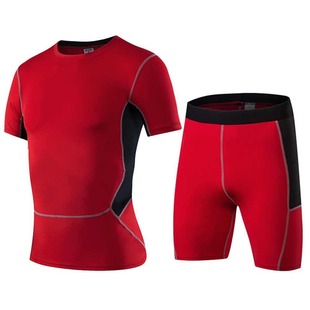 Men's  Fitness Training  Sweat-Drying Suit