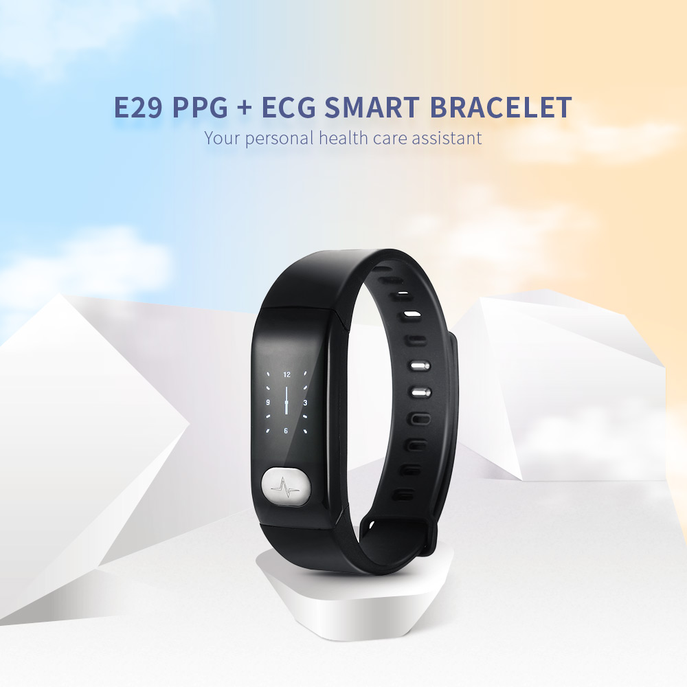 E29 Ppg Ecg Smart Chip Bluetooth Wireless Sports Smart Bracelet For