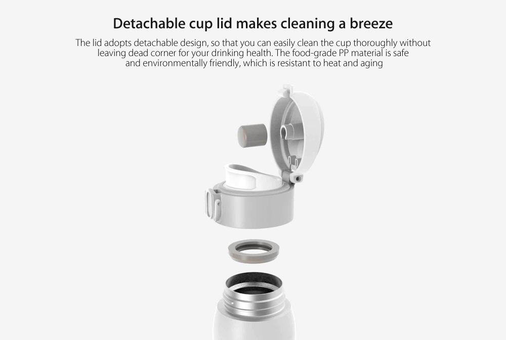 Xiaomi VIOMI Stainless Steel Vacuum Cup Thermos 460ml