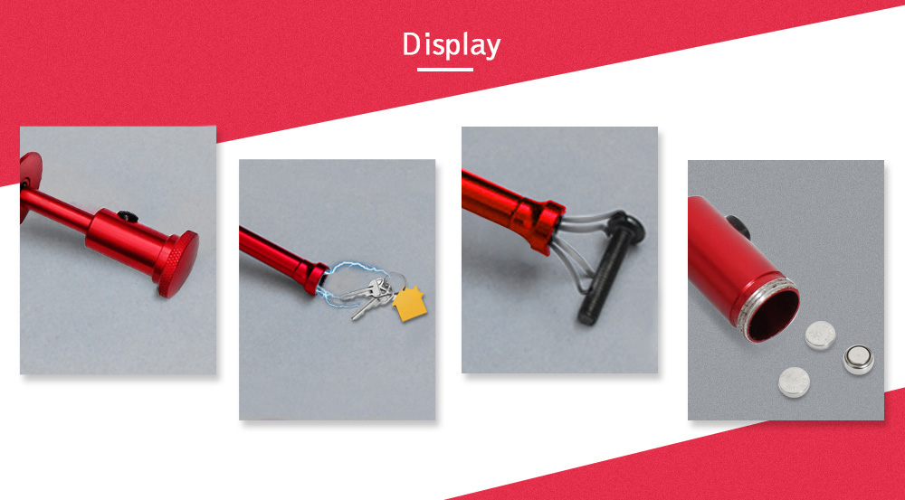 Flexible Telescopic Claw Magnetic Pick-up Tool with Bright LED Light for Automotive Home Use