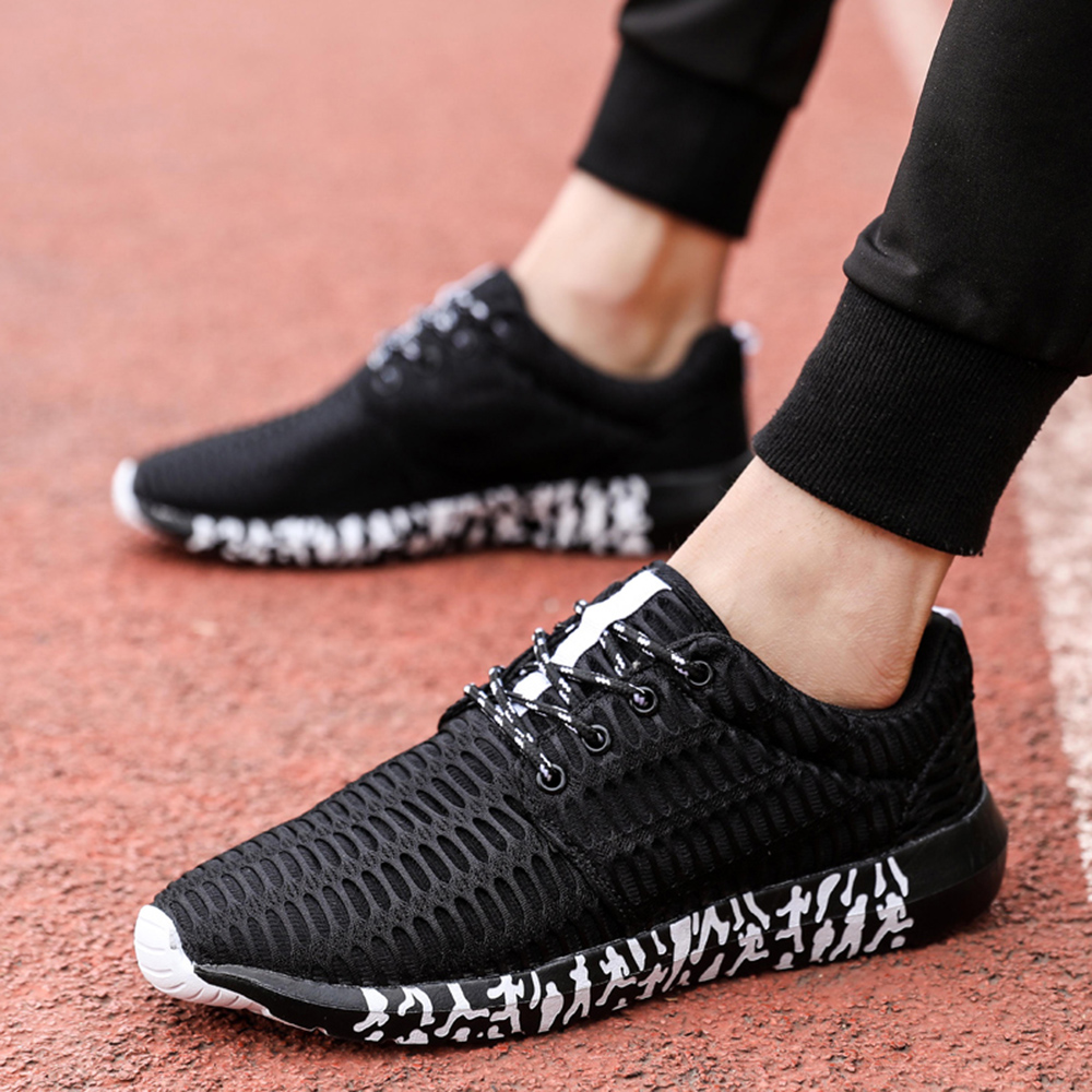 Breathable Casual Comfortable Lace Up Men Shoes