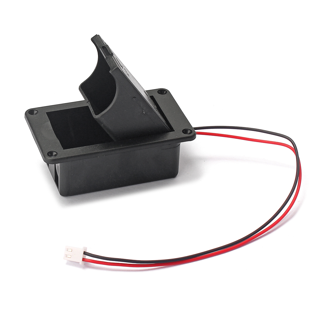 High Quality Black 9v Battery Box Case Cover Holders For Guitar Bass Wiring Pickup Replacement Accessory