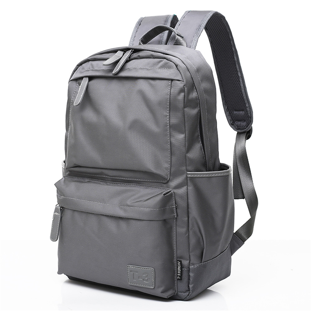 2018 New Men's Computer Double Shoulder Knapsack
