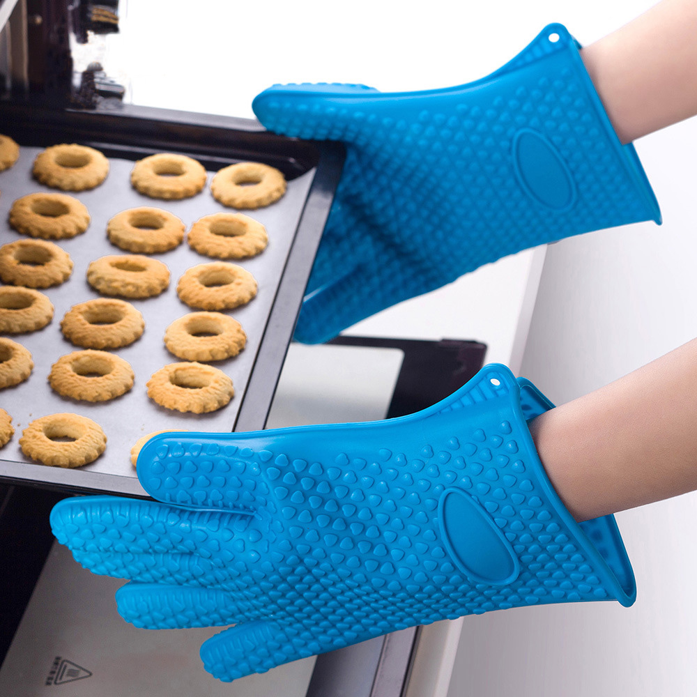 Kitchen Heat Resistant Silicone Gloves 1PCS