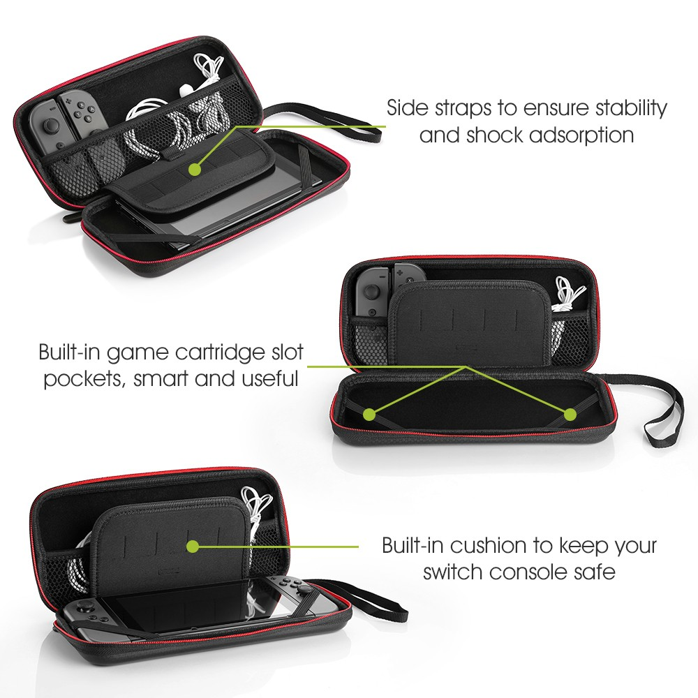 Siroflo Travel Case for Nintendo Switch