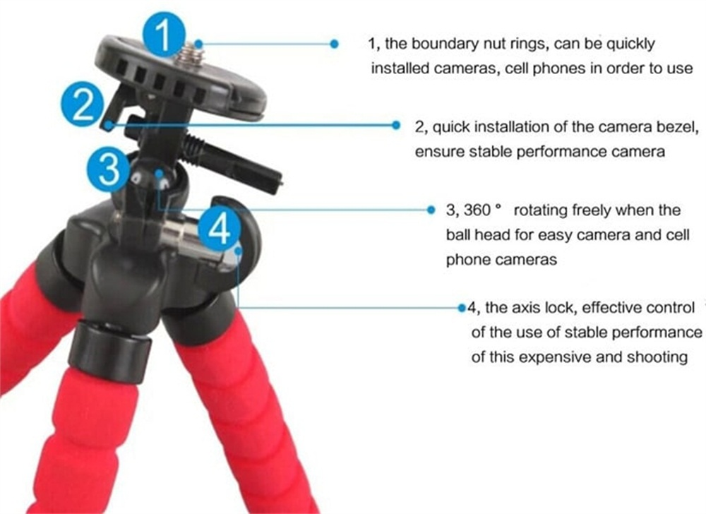Image result for Mini Tripod Phone Stand