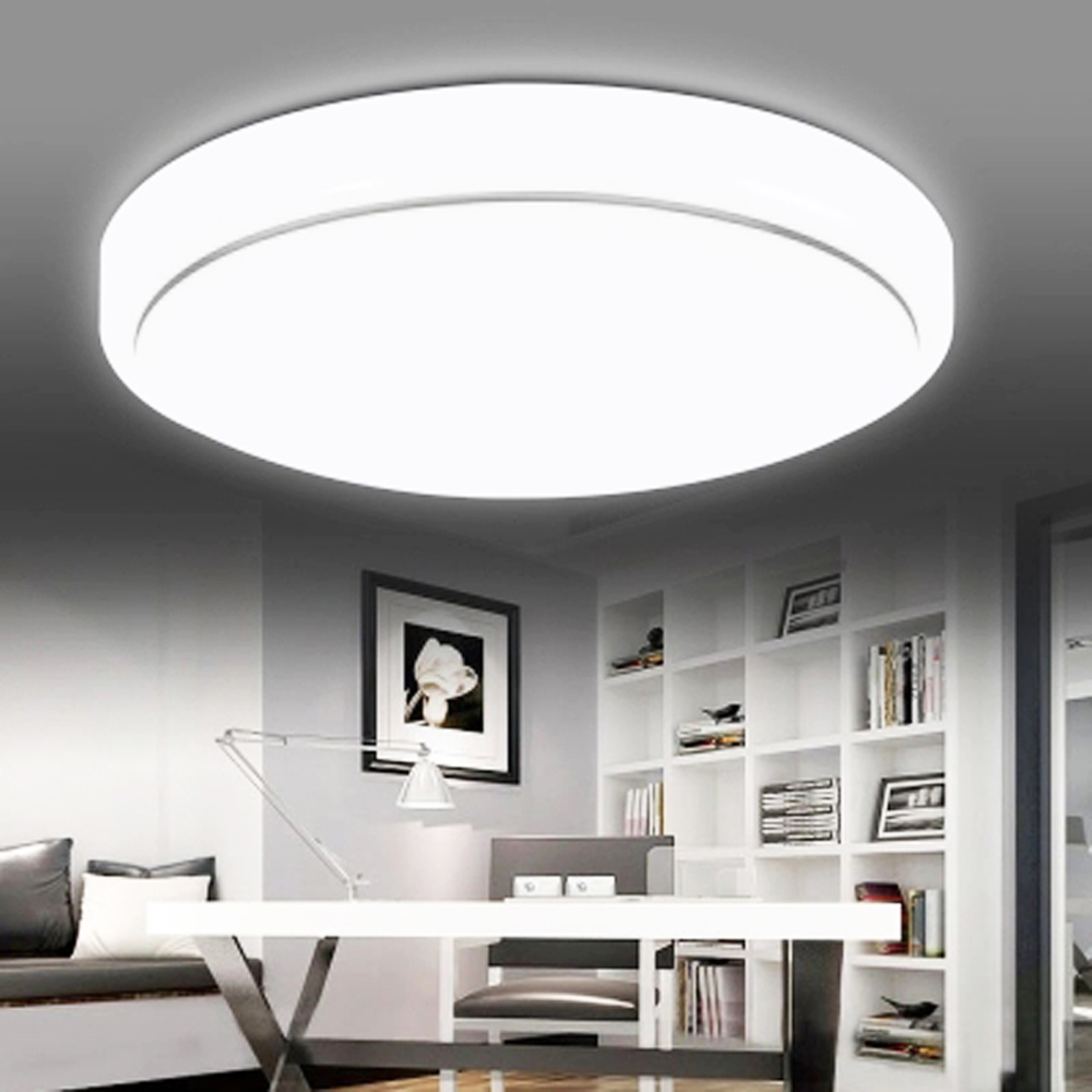iawen modern round simple ceiling light for bedroom hallway balcony - Simple Ceiling Lights For Living Room