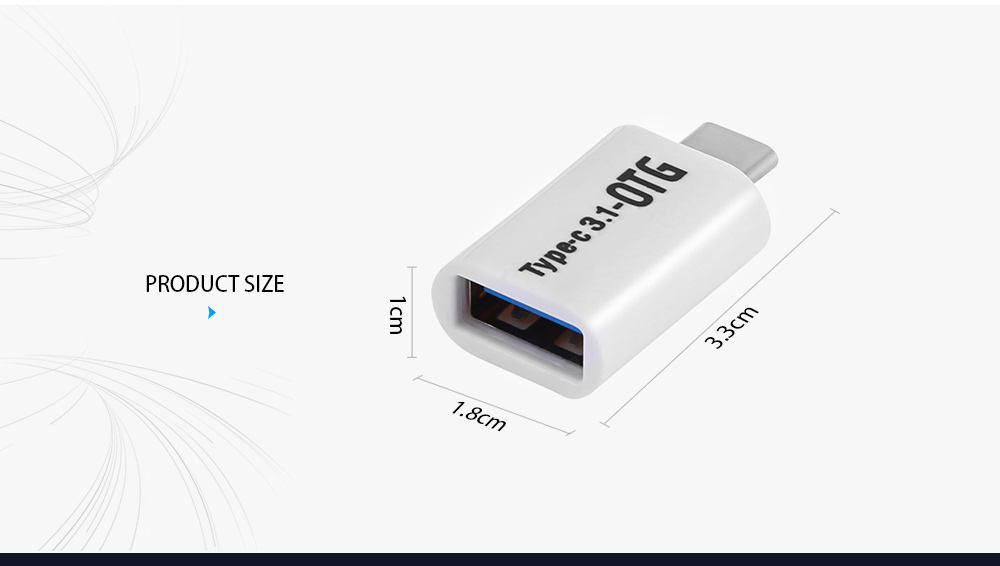 USB 3.0 to Type-C OTG Adapter Connector 5Gdps