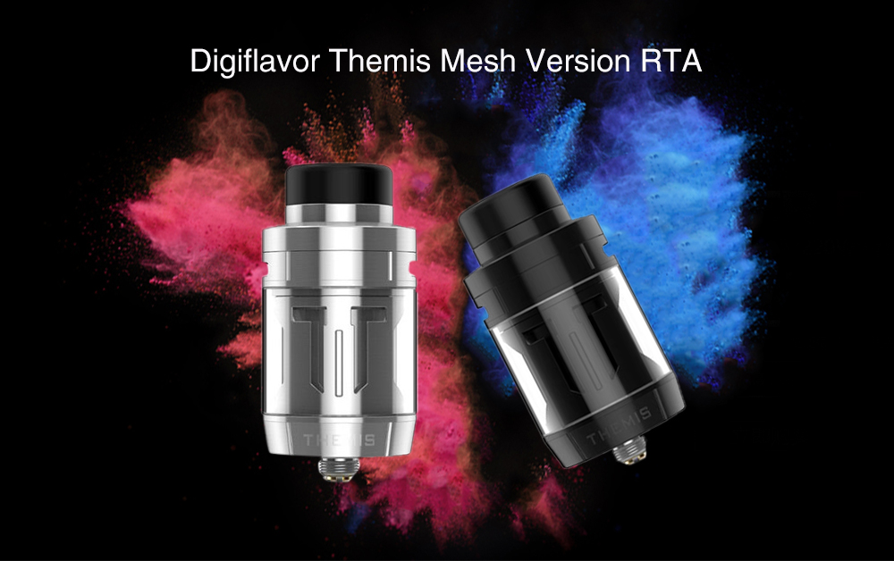 Digiflavor Themis Mesh Version RTA with 5ml / Top Filling for E Cigarette