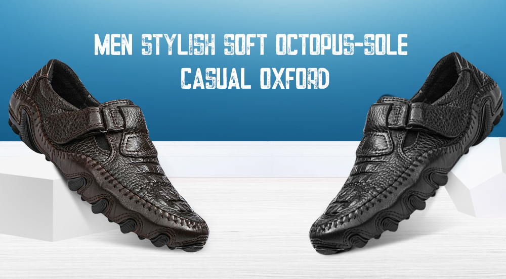 men stylish soft octopus sole casual oxford shoes 60 52 free
