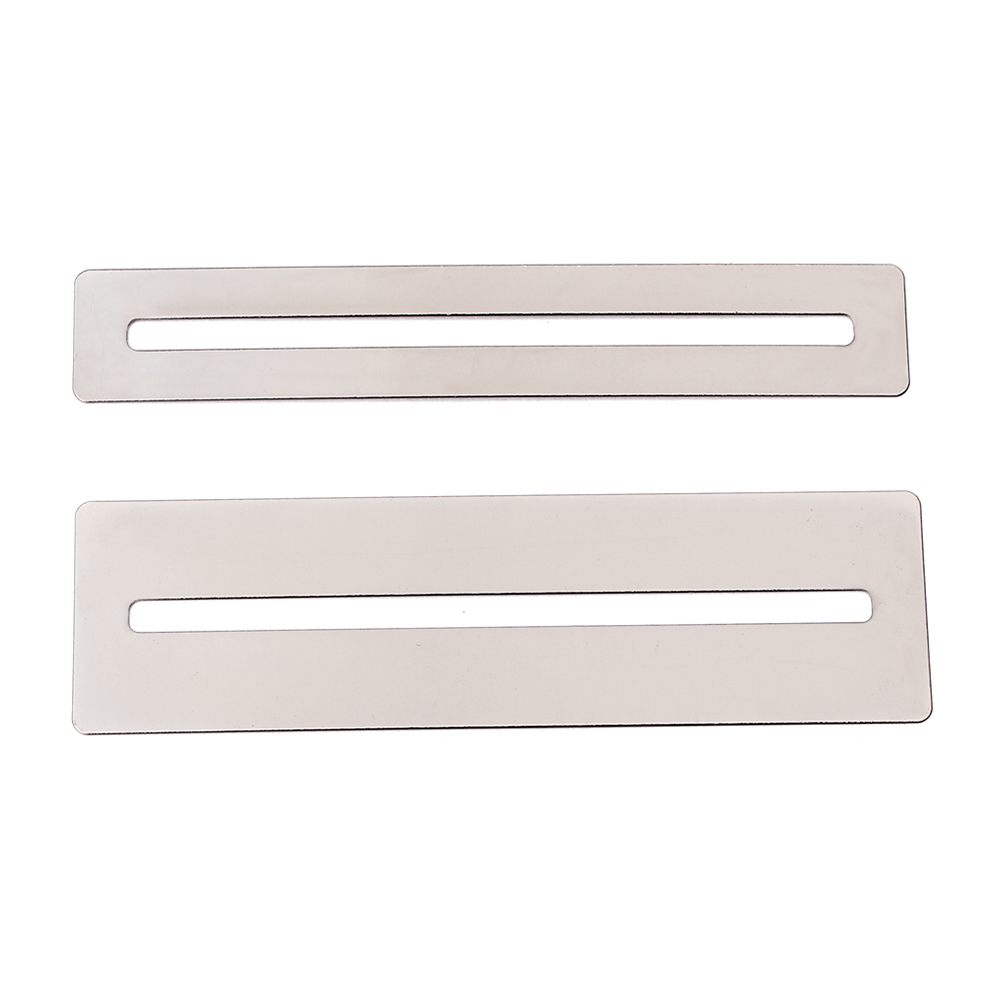 Guitar Parts & Accessories Musical Instruments Fretwire Sanding Neck Fingerboard Guards For Guitar Bass Luthier Tools Bendable Stainless Steel Fretboard Fret Protector 2pcs
